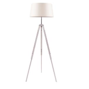 Rustic floor lamp