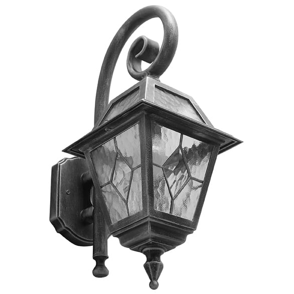 Rustic outdoor lamp