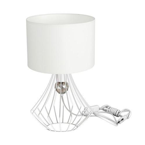 Jewel White 1x E27 Tischlampe