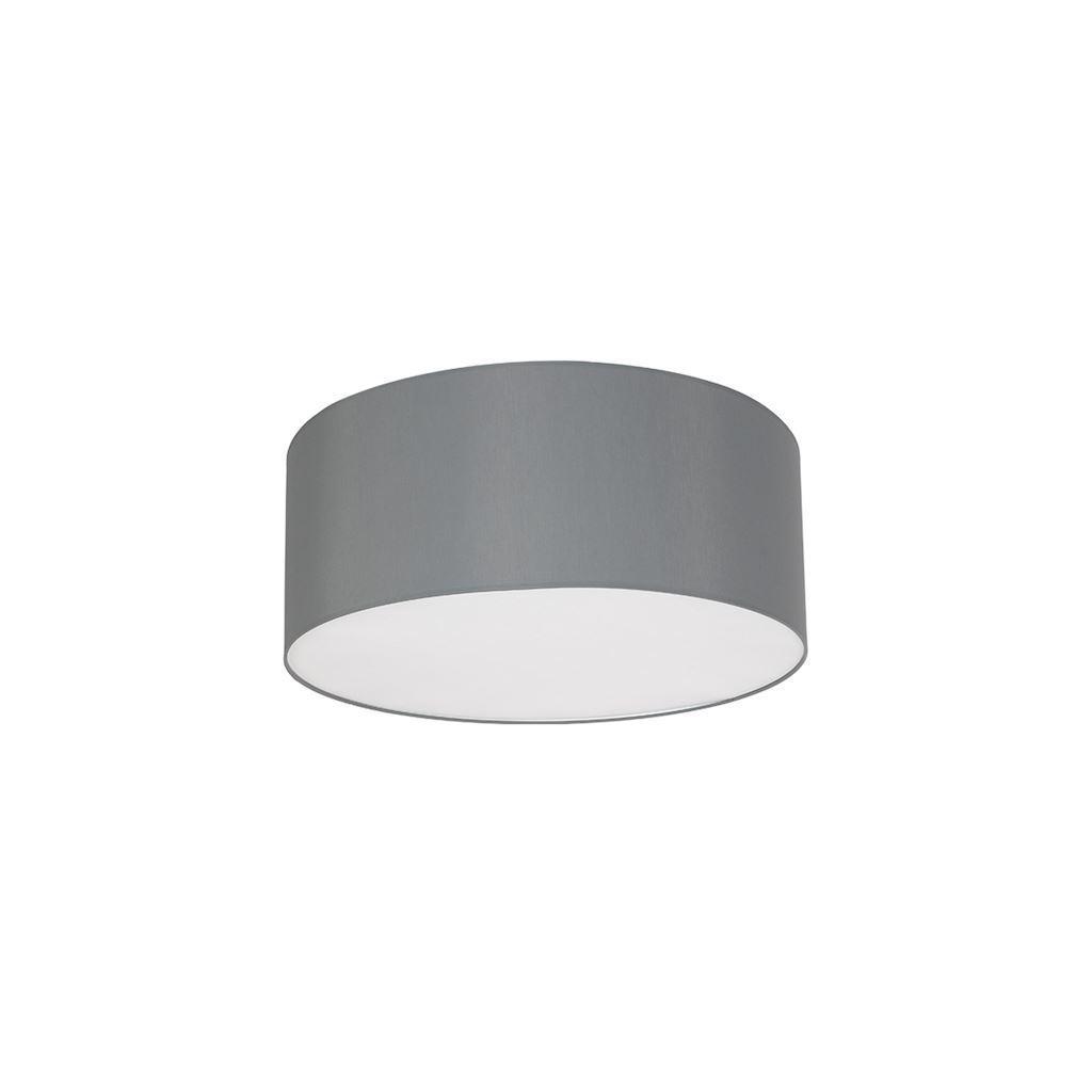 Graue Deckenleuchte Bari Grey 3x E27