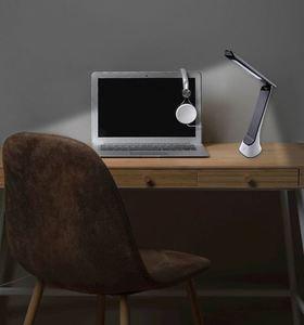 5W Schreibtischlampe mit weißer Klinge small 7