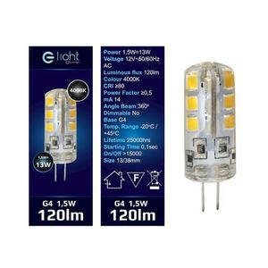 LED-Lampe 1,5 W G4 12 V. Farbe: Neutral small 1