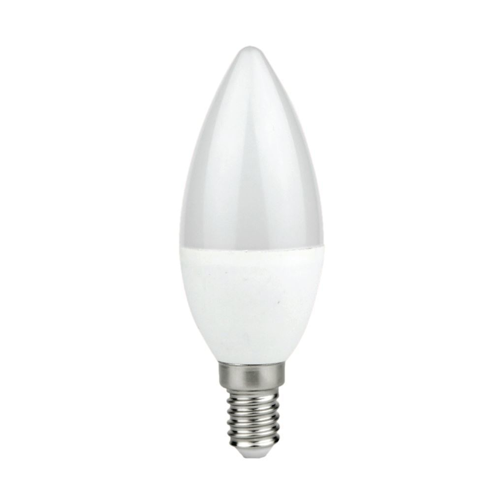 LED-Lampe 7 W E14 C37 Kerze. Farbe: Neutral
