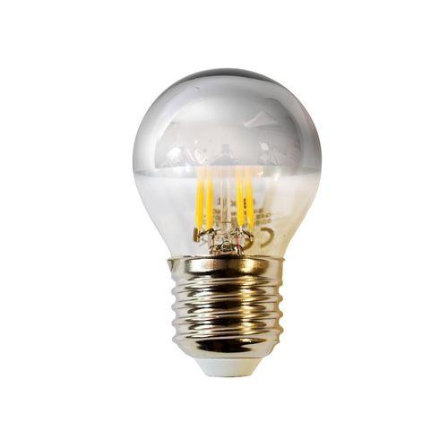 4 W G45 E27 Silber LED-Glühbirne
