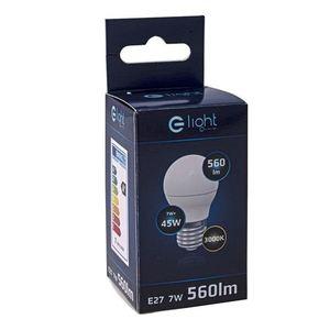 7 W E27 G45 LED-Lampe. Farbe: Warm small 3