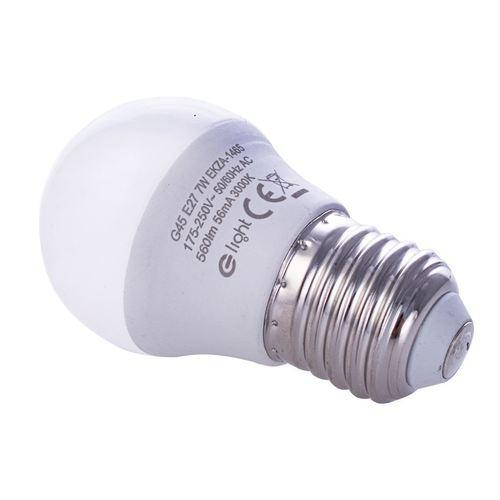 7 W E27 G45 LED-Lampe. Farbe: Warm