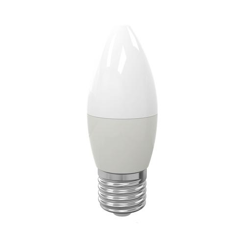 LED-Lampe 7 W E27 C37. Farbe: Warm