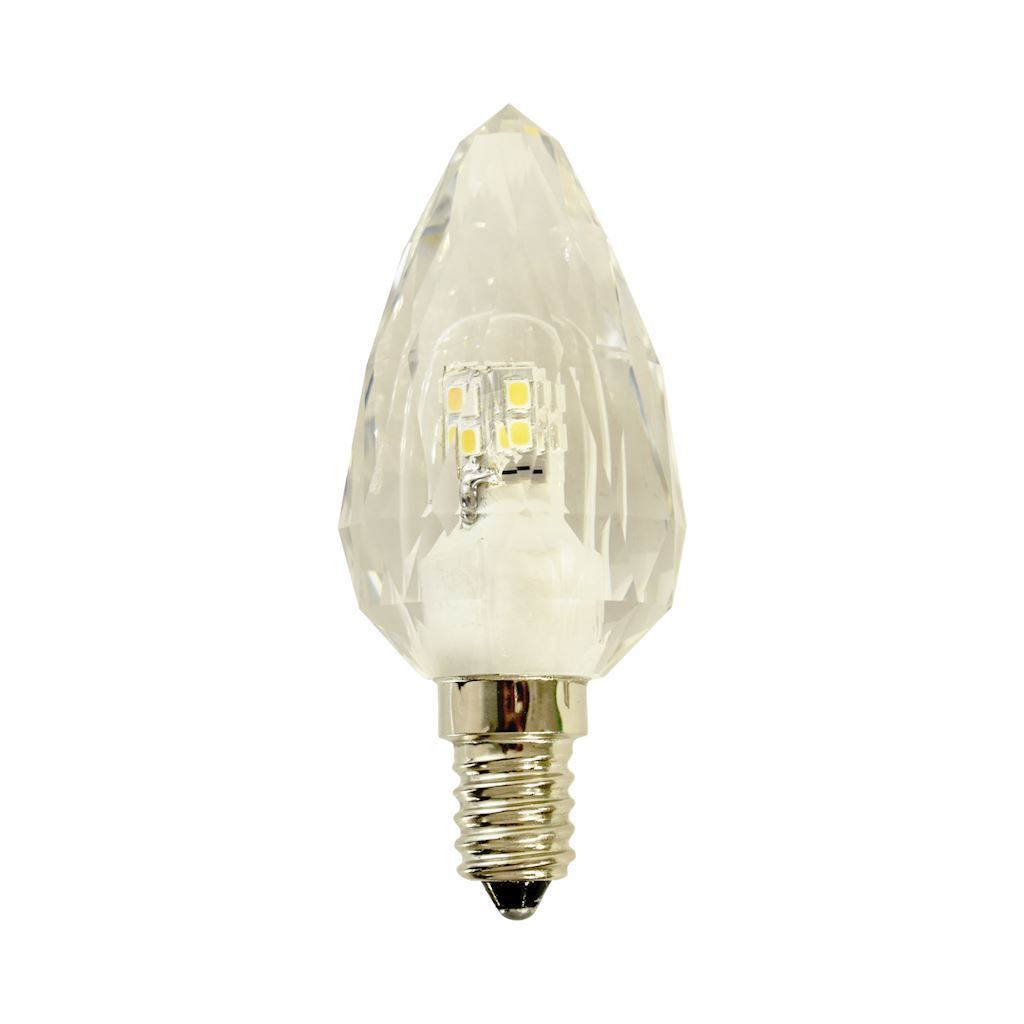 Kristallglühlampe 4,3 W C37 E14 4000K