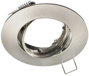 Chrom Deckenauge Set Cast Basic + 1,5 W Gu10 Lampenfassung small 0