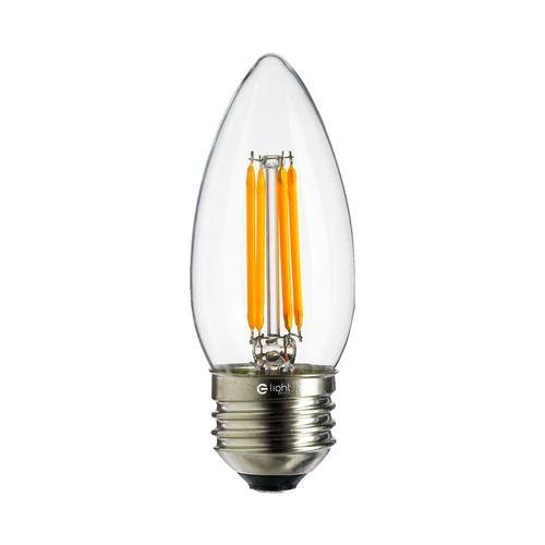 4 W C37 E27 4000K LED-Glühlampe