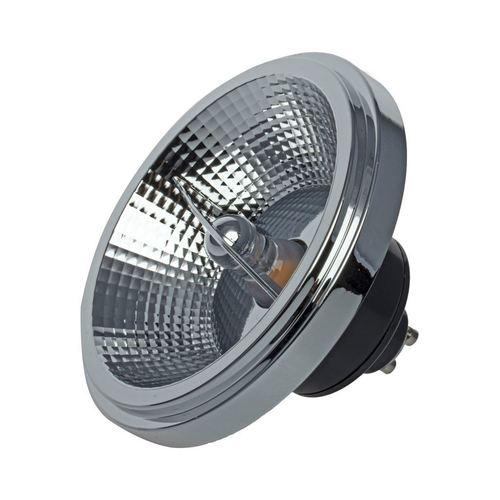 Ar111 12 W Gu10 4000 K / Schwarze Glühlampe mit Reflektor