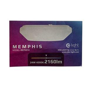 Weiß Memphis 24 W LED 4000K Plafond small 4