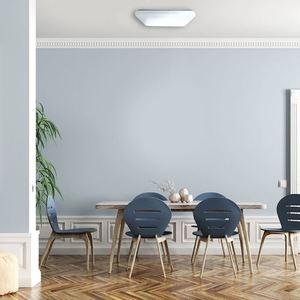 Weiß Memphis 24 W LED 4000K Plafond small 5