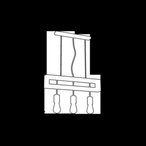 Weiße Hängelampe Fano 3x E27 small 2