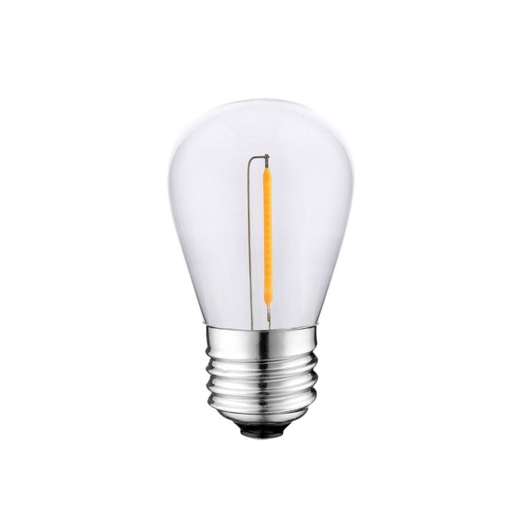 1 W St45 E27 2700K LED-Glühlampe