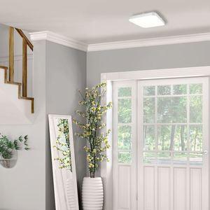 Weißer Ajax 17 W LED Plafond small 1