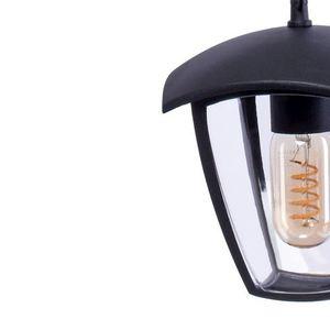 Black Fox Black 1x E27 IP44 Hängende Gartenlampe small 3