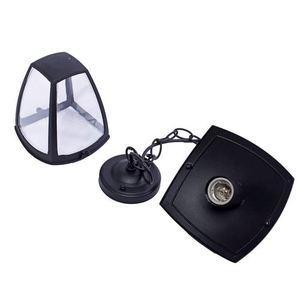 Black Fox Black 1x E27 IP44 Hängende Gartenlampe small 4