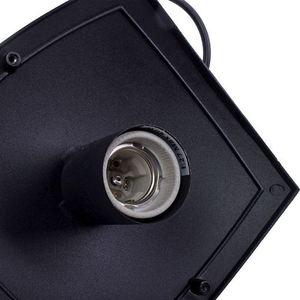 Black Fox Black 1x E27 IP44 Hängende Gartenlampe small 5