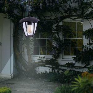 Black Fox Black 1x E27 IP44 Hängende Gartenlampe small 8