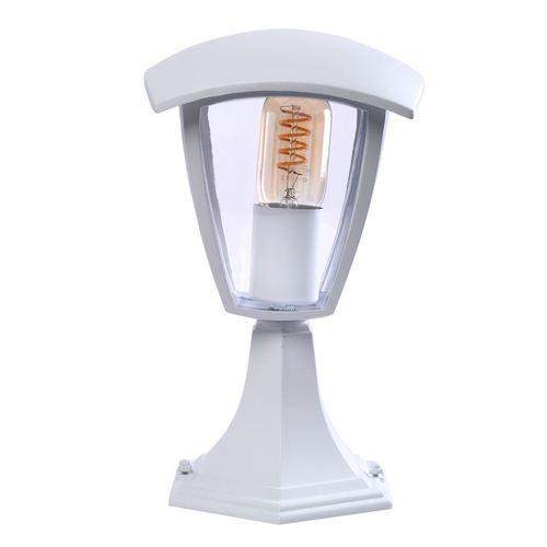 Fox White 1x E27 Kleine stehende Gartenlampe IP44
