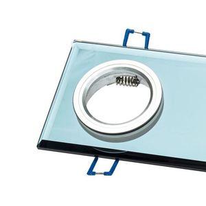 Schwarze Öse Decke Glas Quadrat 2x Gu10 Farbe: Schwarz small 3