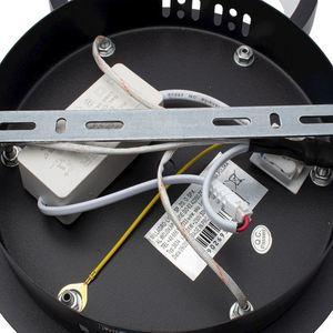 Ring Schwarz 36 W LED Deckenleuchte small 3