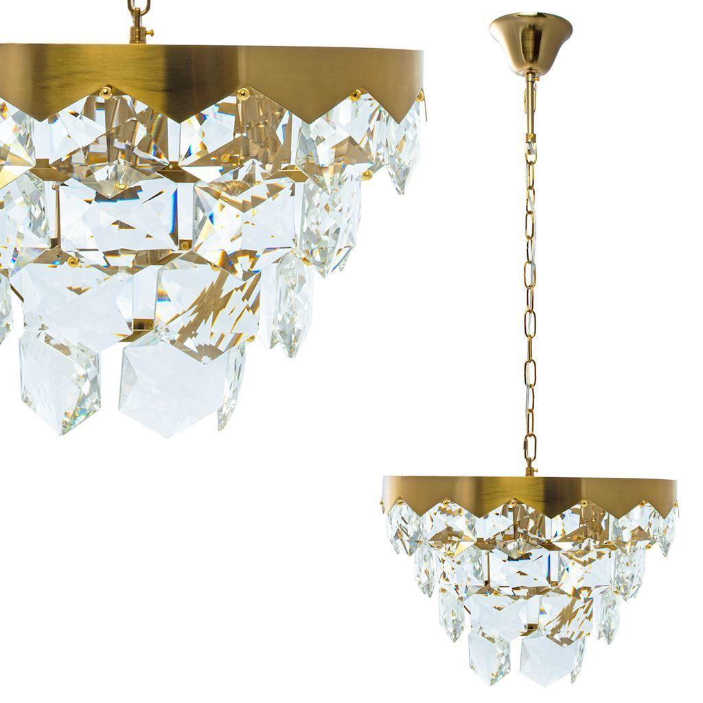 Grace Gold Kristall Kronleuchter 6x E14