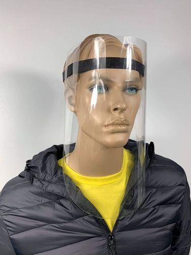 Schützender Gesichtsschutz für Haustiere mit geflochtenem Klebeband