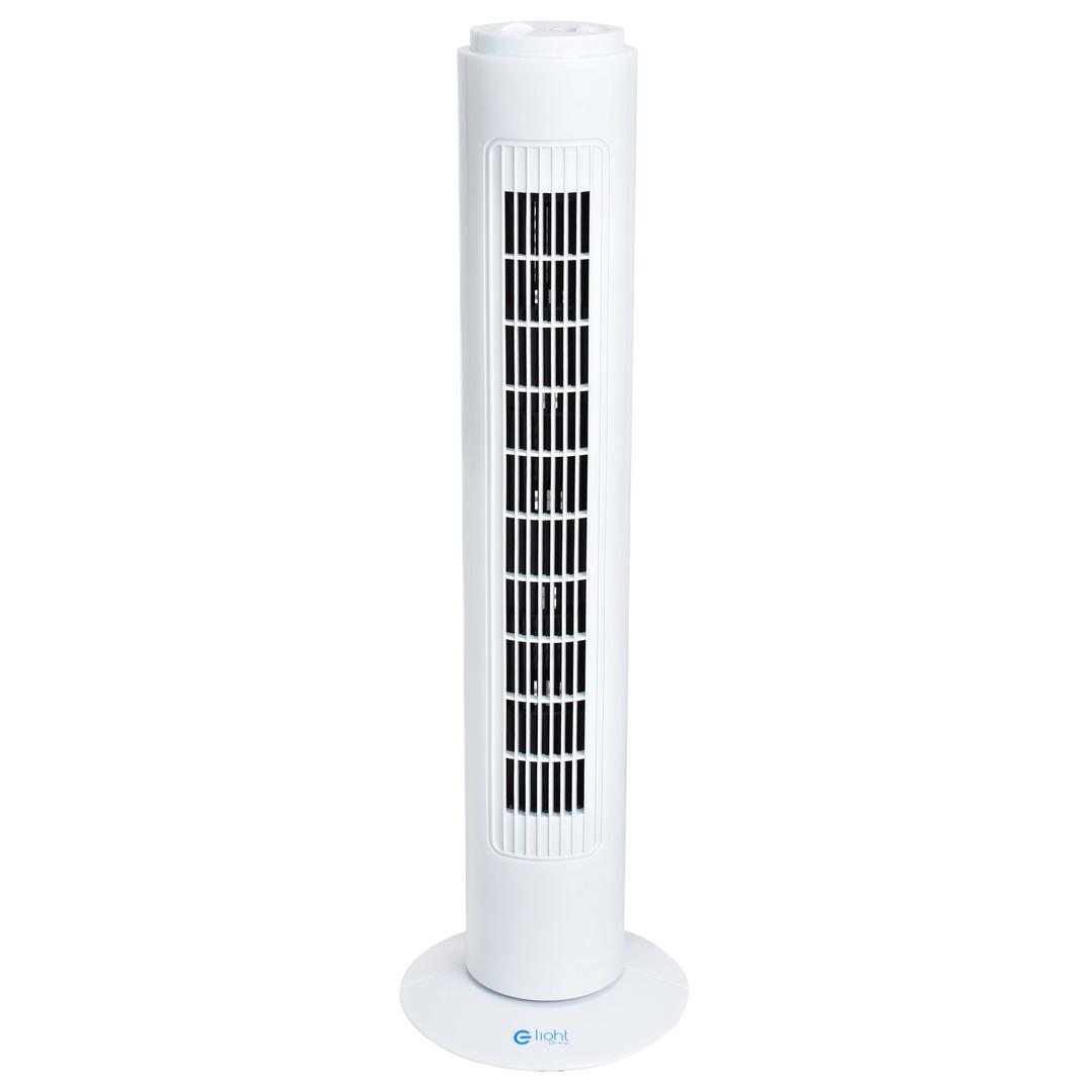 """Stehender Ventilator Eko Light 29 """"Tower White"""