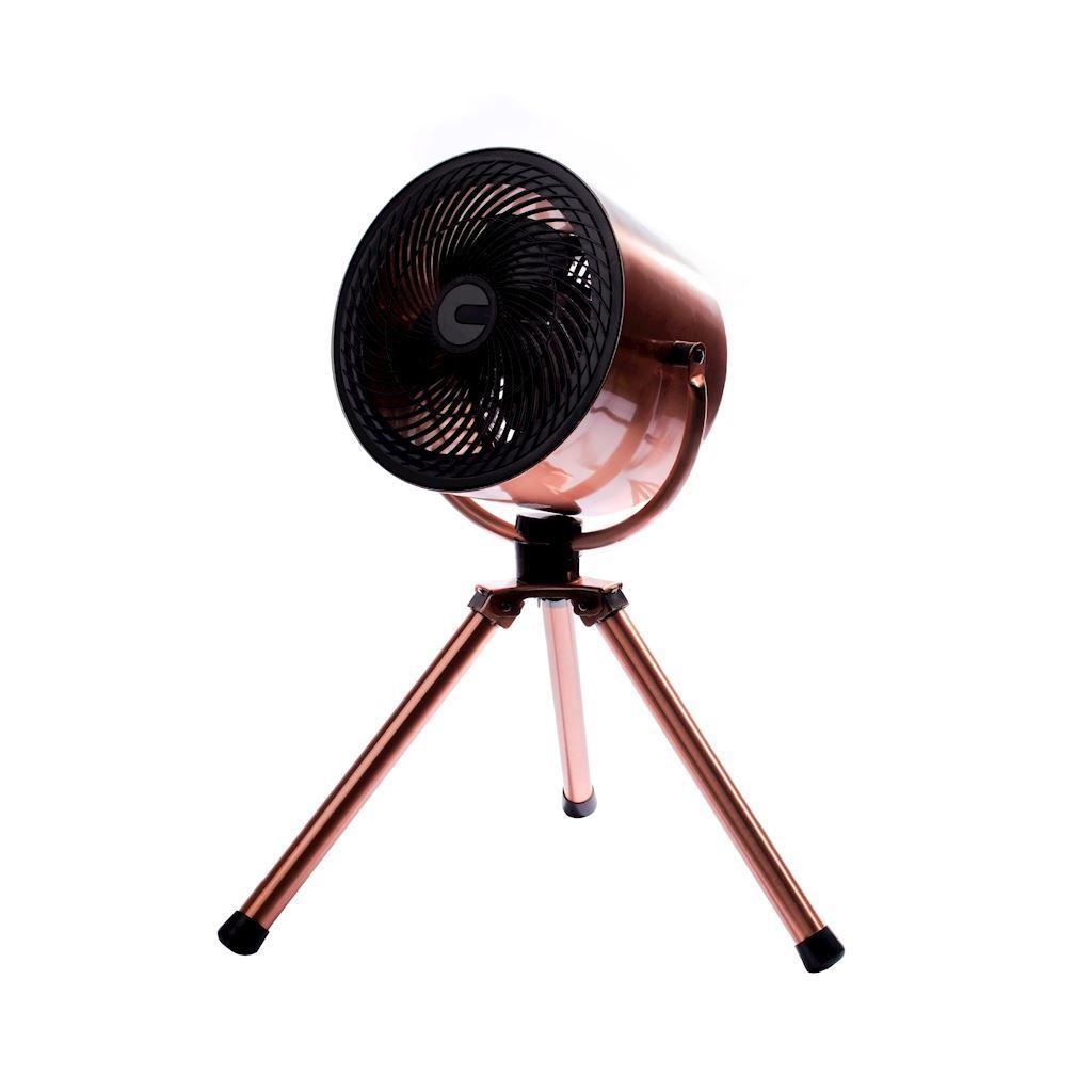 "Eko Light 10 ""Stativ Kupfer Stehventilator"