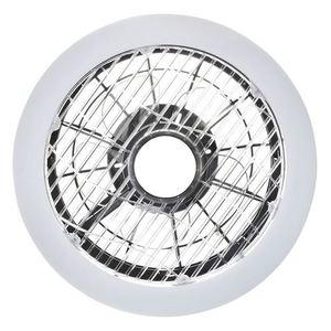 Mistral 45 WZ LED Deckenleuchte mit Ventilator, Opaldiffusor small 1