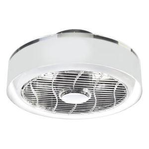 Deckenleuchte Led Mistral 45 WZ mit Ventilator und transparentem Lampenschirm small 6