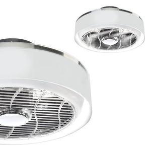 Deckenleuchte Led Mistral 45 WZ mit Ventilator und transparentem Lampenschirm small 0