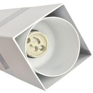 Weiße Hängelampe Vidar Weiß / Chrom 3x Gu10 small 2