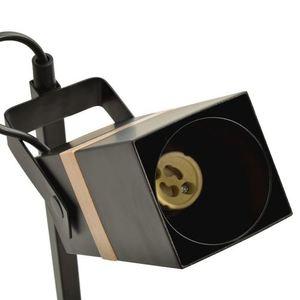 Schwarze Nachttischlampe Vidar Black 1x Gu10 small 2
