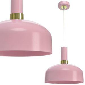 Pink Malmö Pink 1x E27 Hängelampe small 0