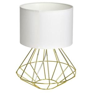 Weiße Stehlampe Lupo Wite / Gold 1x E27 small 0