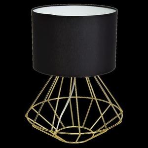Schwarze Stehlampe Lupo Schwarz / Gold 1x E27 small 7