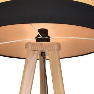 Schwarze Tischlampe Terra 1x E27 small 3