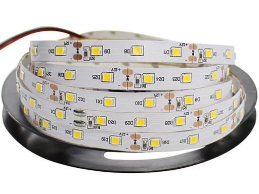 60 LED-Streifen 24 W. Kaltweiße Farbe. Ip20. (5 Meter)