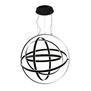 Weiß Copernicus Schwarz 260W LED Pendelleuchte small 0