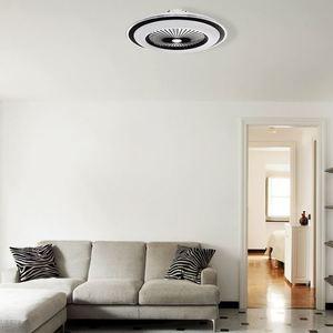 Weiße Zonda 60 WZ LED Deckenleuchte mit Ventilator small 13