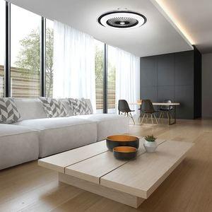 Weiße Zonda 60 WZ LED Deckenleuchte mit Ventilator small 6