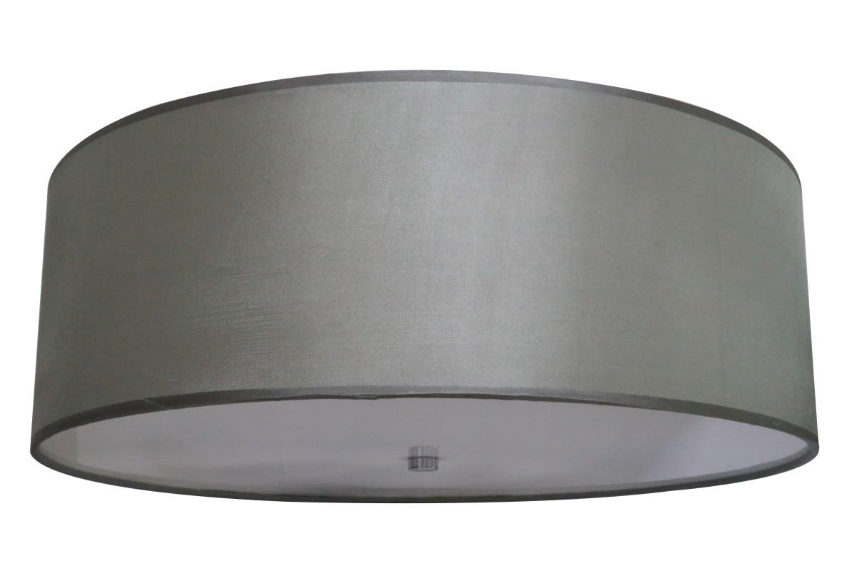Modernistisches rundes graues Plafond Giron