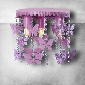 Angelica Pink Deckenleuchte 3x E27 small 2