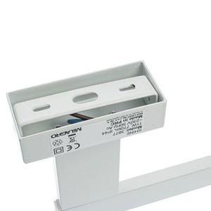 White Shine White 11 W LED Wandleuchte IP44 small 3