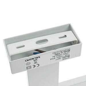 Weiße Wandleuchte leuchtet weiß 13,8 W LED IP44 small 2
