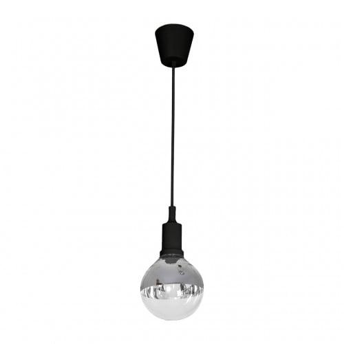 Hängelampe Milagro BUBBLE BLACK 456 Schwarz 5W