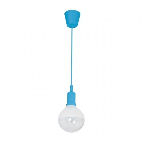 Hängelampe Milagro BUBBLE BLUE 457 Blau 5W